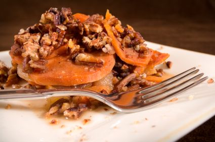 Maple-Roasted Sweet Potatoes with Pecans | live to eat/eat to live ...