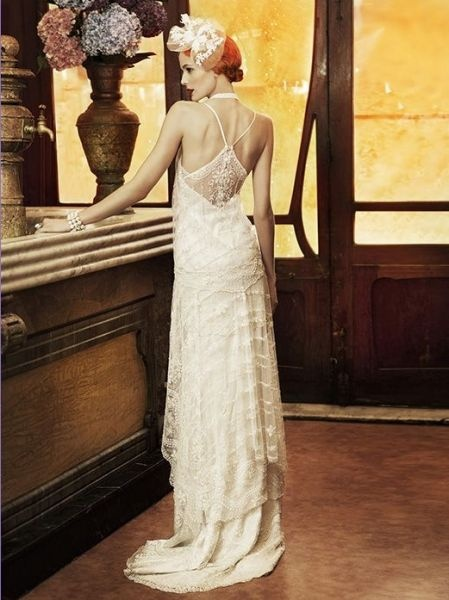 yolan cris  robes de mariée vintage * wedding vintage dresses  Pint ...