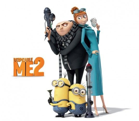 Despicable Me 2 - I feel like they relied a little too heavily on the ...