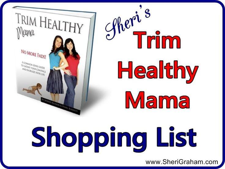 Sheri s trim healthy mama shopping list post baby body pinterest