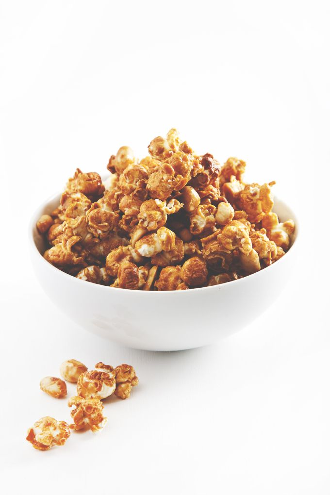 A homemade cracker jack recipe that requires 6 ingredients, 1 bowl & a few minutes to bake. Lower-glycemic, but every bit as crave-worthy as the original.