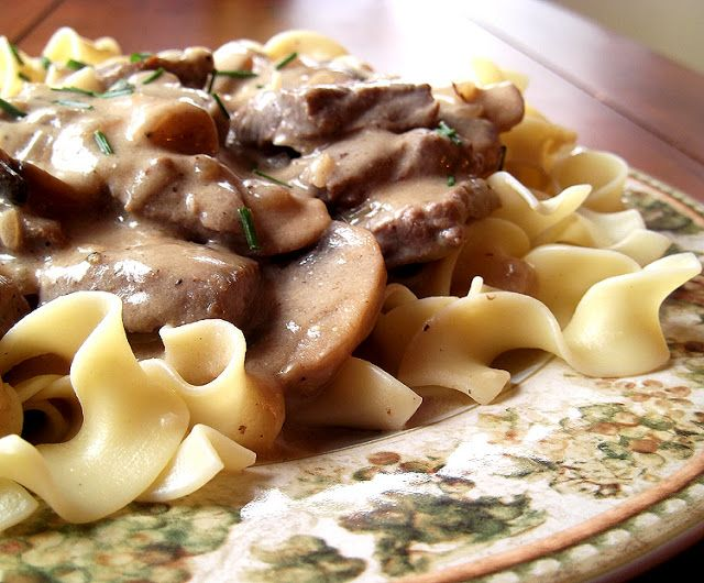 Classic Beef Stroganoff from Fine Cooking Magazine, February/March ...