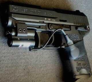 H&K; USP. 45 W/crimson trace laser sight