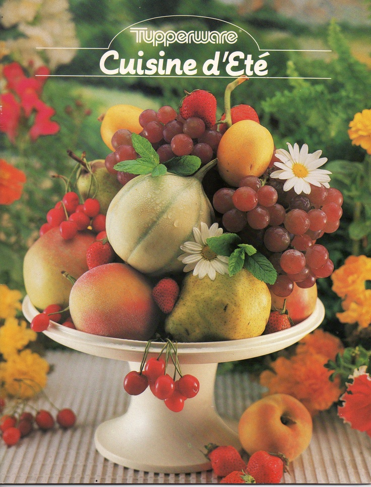 Cuisine d 39 t 1985 tupperware pinterest for Cuisine d ete