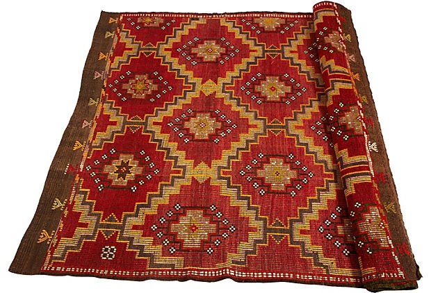 Vivacious Turkish Red Rug