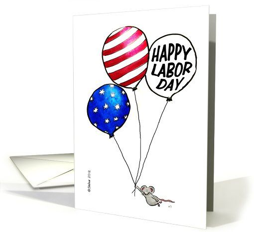 flag day birthday card