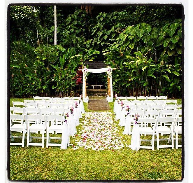 Tiny Backyard Wedding : Small garden wedding  weddings  Pinterest