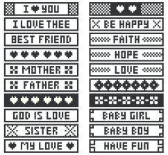 Filet crochet - easy bookmark patterns | Craft Ideas | Pinterest