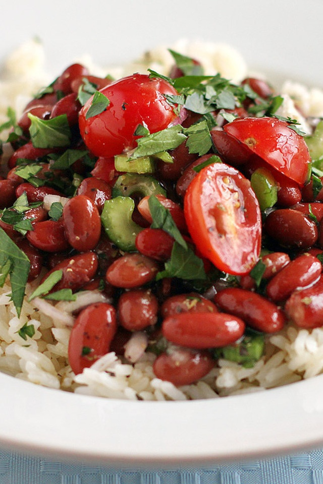 beans and rice cuban beans and rice monday s red beans and rice salad ...