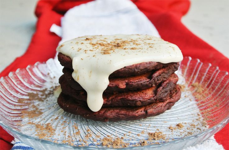 how to make red velvet pancakes from scratch