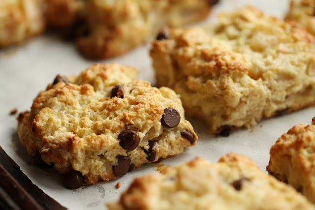 roasted pear and chocolate scones   SCONES   Pinterest