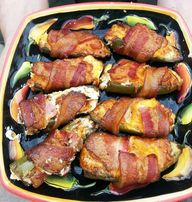 Cheese And Bacon Okra Poppers Recipes — Dishmaps