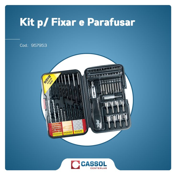 A Cassol Centerlar tem de tudo para deixar a sua casa bem equipada. #Construção #ferramentas