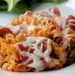 Manicotti Italian Casserole! | N!FY Dinners/Snacks! | Pinterest