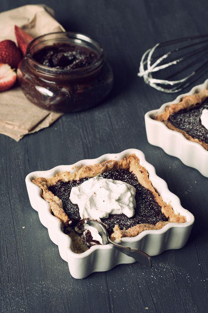 Chocolate truffle tart | A Sweet.... | Pinterest