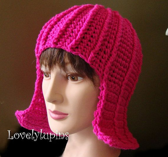 Hair Hat or Wig Hat - Crochet Pattern- Cute Stylish Hat- easy to make ...