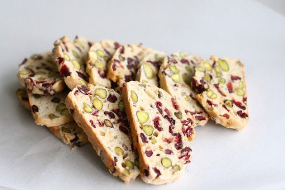 Cranberry and Pistachio Biscotti | Food to do one day! | Pinterest