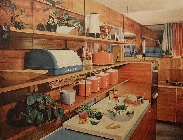 1950s Kitchen Vintage Decor Pinterest