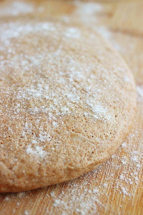 100% Whole Wheat Pizza Dough | Recipe