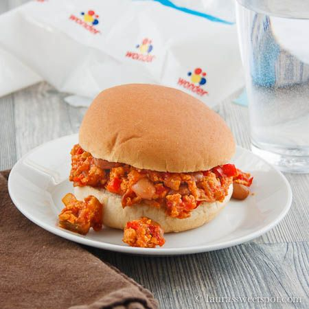 Turkey Sloppy Joes...always looking for different ways to use ground ...