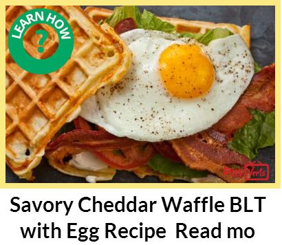 ... waffles. Check out at http://pinverts.com/Savory-Cheddar-Waffle-BLT