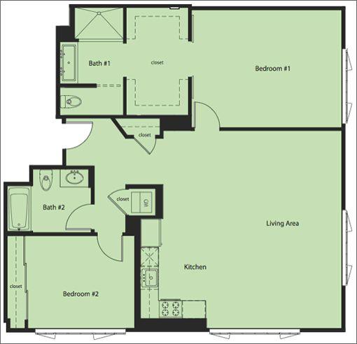 Nice Small House For Retirement Houseplans Pinterest