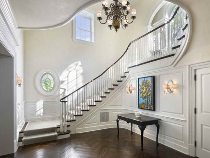Hall stairs landing decorating ideas entryways halls Design ideas for hallways and stairs