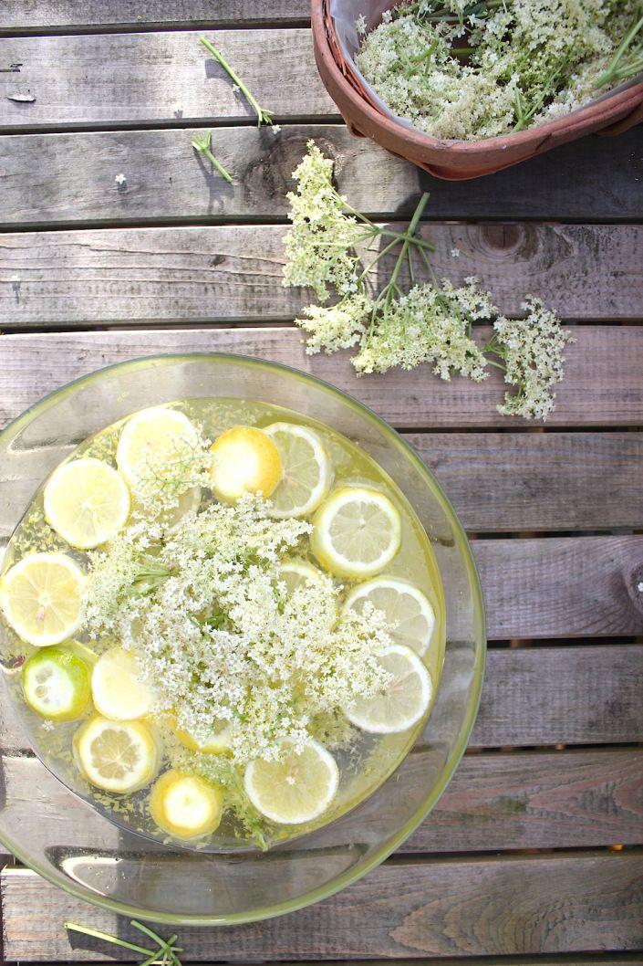 homemade elderflower cordial | JEM Farm Recipe collection | Pinterest