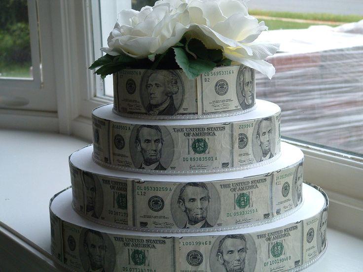 Поздравления с денежным тортом 19
