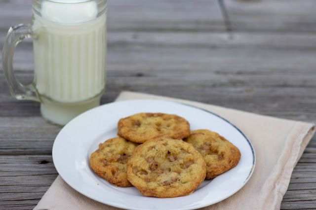 Heath Bar Cookies | Delectable Desserts | Pinterest