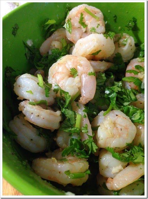 Cilantro Lime Shrimp | Under da SEA | Pinterest