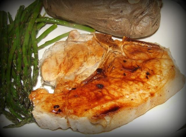 Beer-Brined Grilled Pork Chops Recipe — Dishmaps