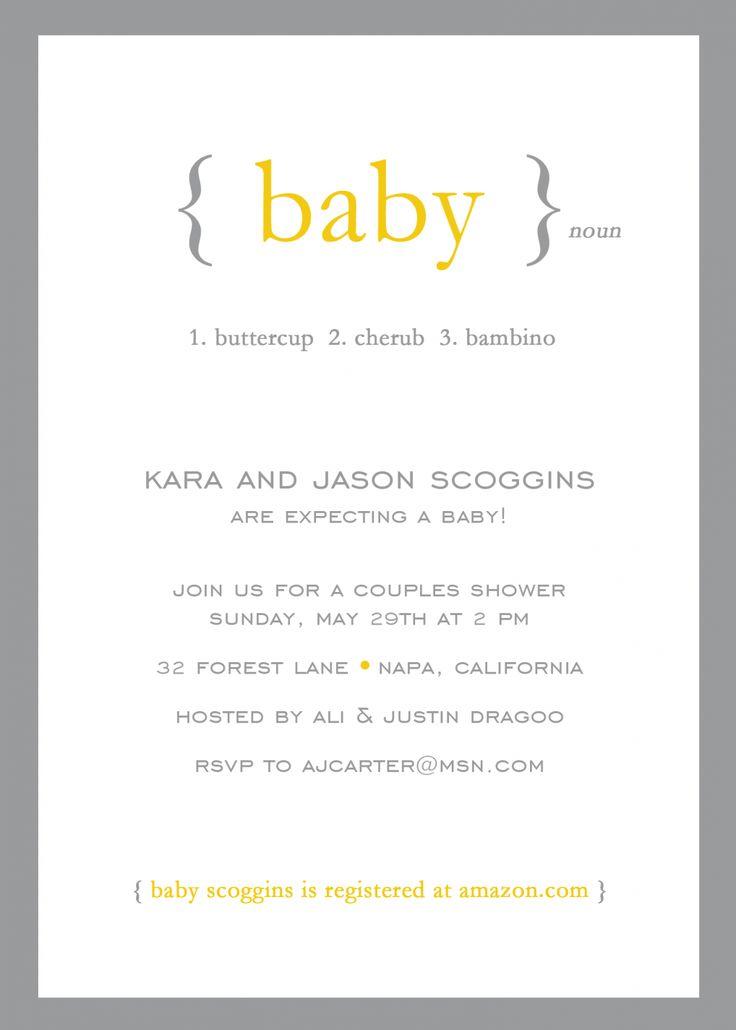 gender neutral baby shower invitations baby shower pinterest