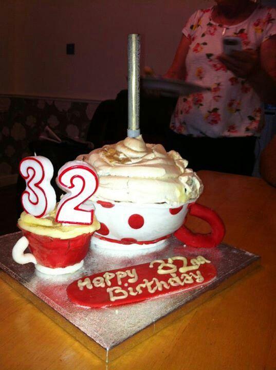 Cup cake!! Meringue top