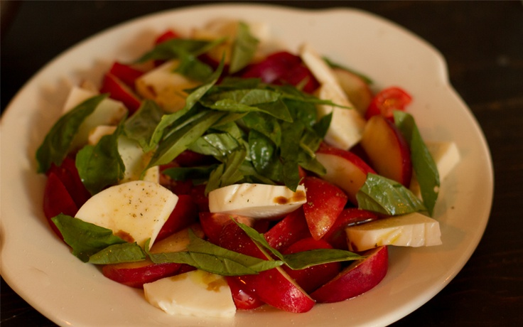 ... , mozzarella, and basil drizzled with olive oil & balsamic vinegar