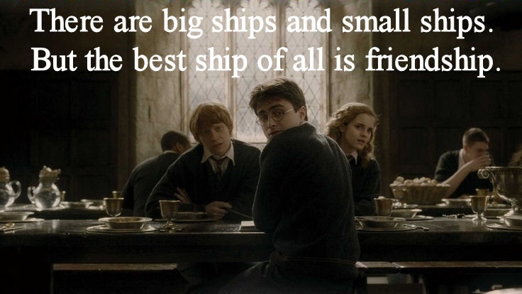 Harry Potter Quotes About Friendship Custom Quotes On Friendship From Harry  Potter Harry Potter Friend Quotes