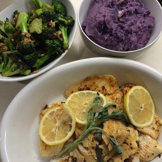 minute Meal! Grilled flounder with mustard,lemon & sage,Sesame Ginger ...