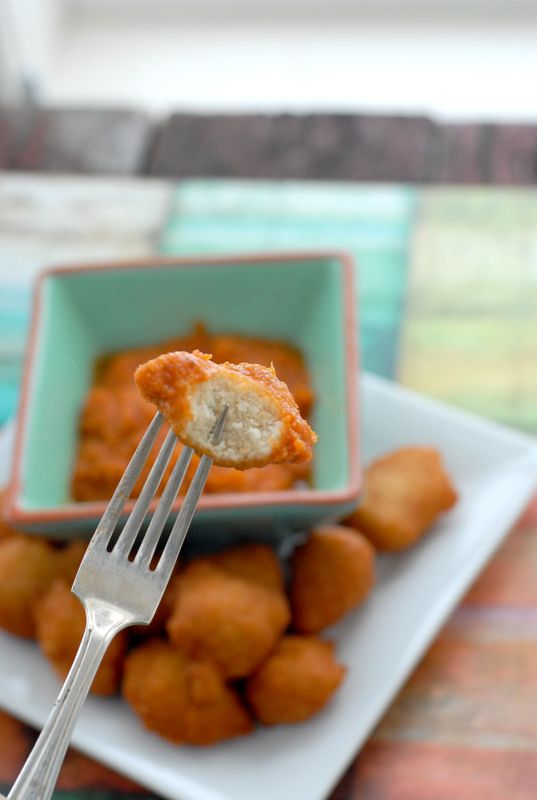 Black-Eyed Pea Fritters with Hot Sauce (Akara) | Recipe