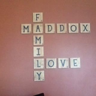 Home Decorating on Scrabble Tiles   Home Decor