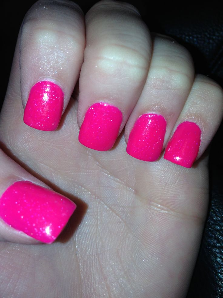Hot Pink Fake Nails – ledufa.com