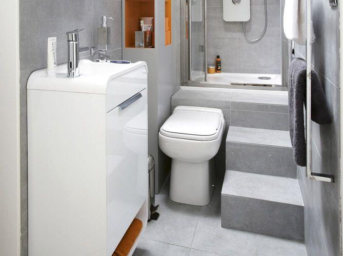 Salle de bain troite salle de bain pinterest - Salle de bain etroite ...
