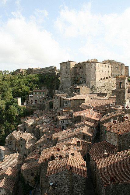 Sorano Italy  city photos : Sorano, Grosseto, Tuscany, Italy | Ti Amo Italia | Pinterest