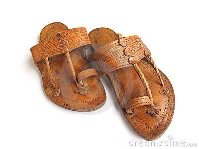 Traditional Indian Leather Sandals | PÉs | Pinterest