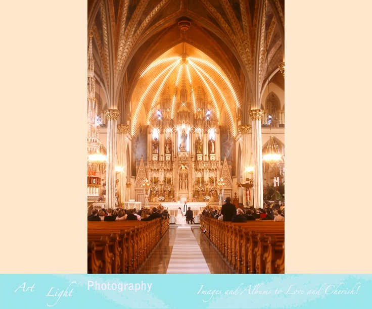 Wedding Ceremony, Sweetest Heart of Mary Cathedral Church, Detroit