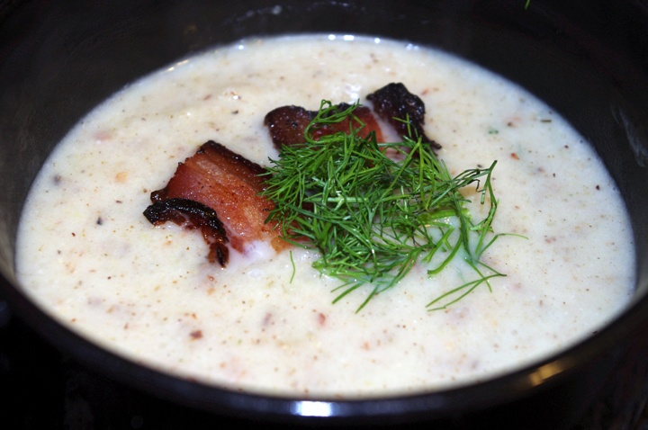 Cream of Roasted Fennel Soup | Clean Eating | Pinterest