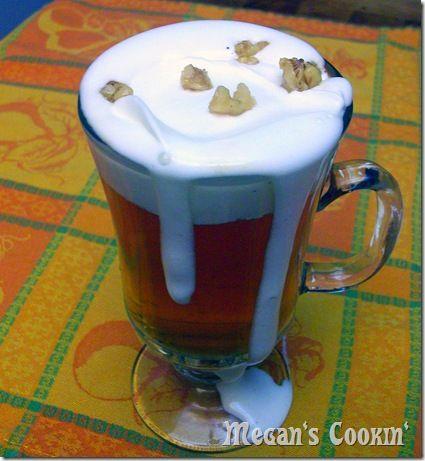 Warm Vanilla Cider with Honeyed walnuts | Autumn | Pinterest