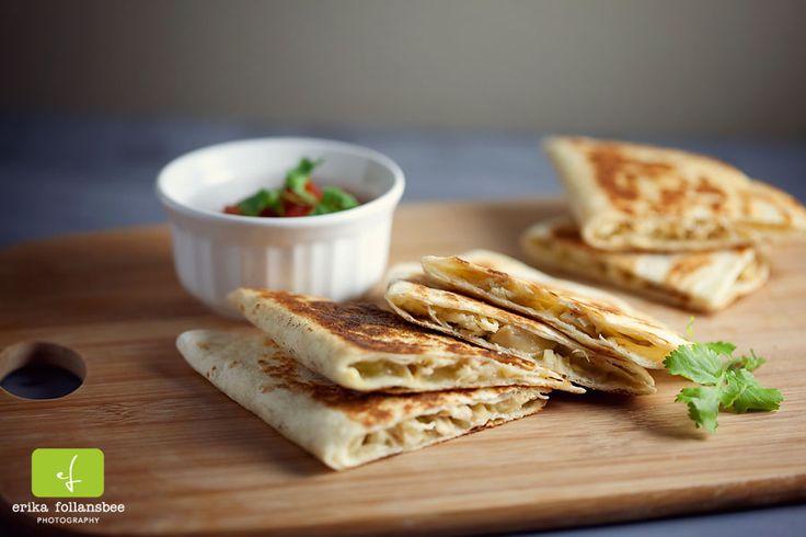 Green Chile Chicken Quesadillas | Quesadilla Recipes | Pinterest