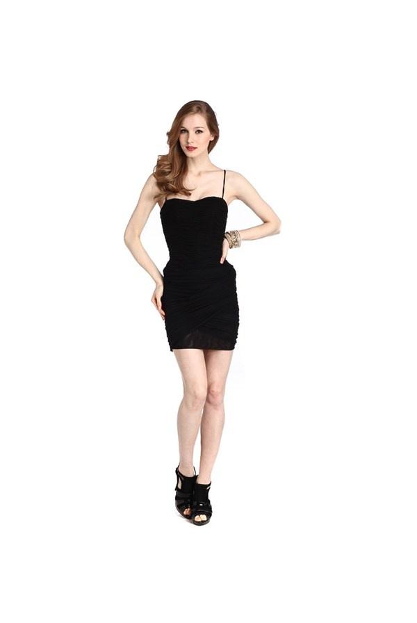 Guess - Sukienka czarna