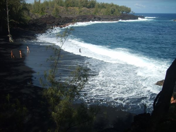 Kehena beach big island right across from the bali cottage at