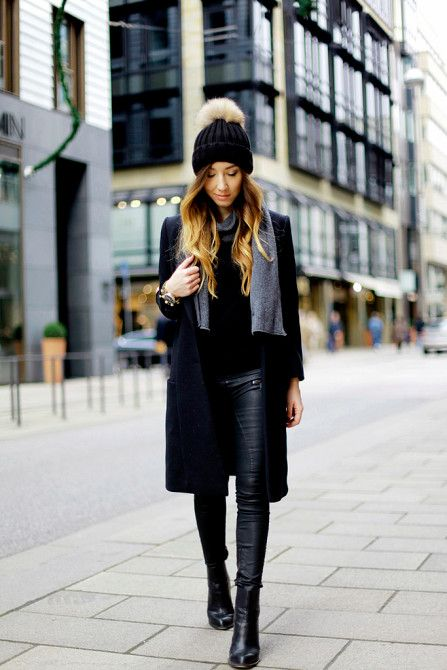 winter outfit essential: the pom pom hat